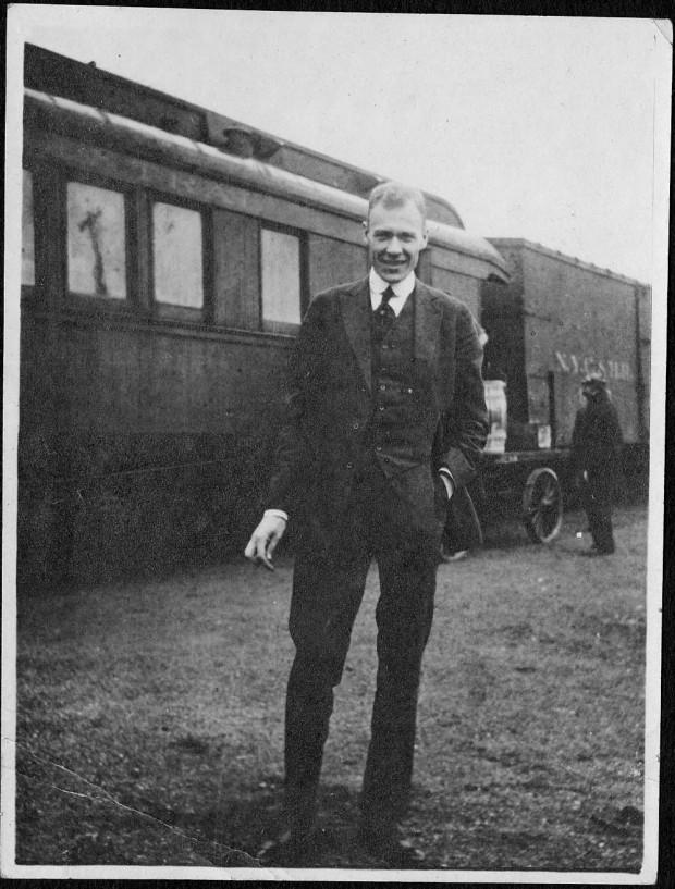 Arthur B. Holmes, September 25, 1916